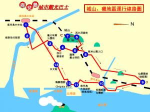 CV路線図(城山磯・繁体)