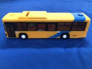 バス型貯金箱(横)